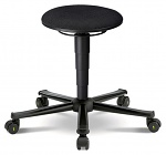BIMOS - 9468E-9802 - ESD stool 2 with castors, fabric Duotec blue, WL31126