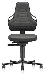 BIMOS - 9033E-9801-3218 - ESD Stuhl NEXXIT 2 mit Rollen, Duotec schwarz mit Griffe, WL43867