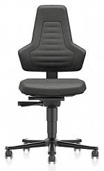 BIMOS - 9033E-9801-3001 - ESD Chair NEXXIT 2 with castors, Duotec black without handles, WL43923
