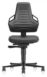 BIMOS - 9033E-2000-3218 - ESD Stuhl NEXXIT 2 mit Rollen, Integralschaum schwarz mit Griffe, WL43869