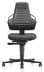 BIMOS - 9033-2000-3285 - Laboratory chair NEXXIT 2, with castors integral foam, anthracite handles, WL43905