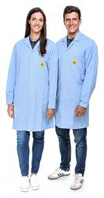 SAFEGUARD - Pro Line - 3XS - ESD Workcoat Pro Line, light blue, 3XS, WL41020