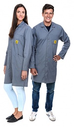 SAFEGUARD - Pro Line - 3XS - ESD work coat Pro Line, grey, 3XS, WL41042