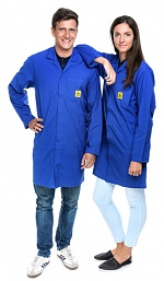 SAFEGUARD - Pro Line - 3XS - ESD Workcoat Pro Line, dark blue, 3XS, WL41031