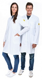 SAFEGUARD - Eco Line - 3XS - ESD work coat Eco Line, white, 3XS, WL41077
