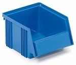 TRESTON - 1520-6 - Open fronted storage bin, 192 x 149 x 105 mm, blue, WL42389