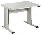 TRESTON - WB815 EL ESD - ESD WB Work table, adjustable with electric motor, light grey, 1500 x 800 mm, WL37041