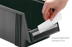 TRESTON - E-10 - Labels with holder for open fronted storage bin 1015, WL36808