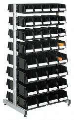 TRESTON - BS-160TA ESD - ESD stand double-sided, 8 aluminium rails, 820x600x1585mm, WL36961
