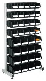 TRESTON - BS-160LA ESD - ESD stand one-sided, 8 aluminium rails, 820x420x1585mm, WL36960