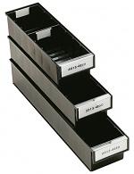TRESTON - 4015-4ESD - ESD drawer, 132x400x100 mm, black, WL36966