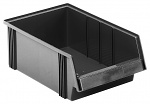 TRESTON - 3050-4ESD - ESD visual storage box, 310x500x182 mm, black, WL36991