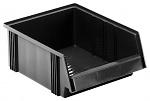 TRESTON - 3040-4ESD - ESD visual storage box, 310x400x156 mm, black, WL36990