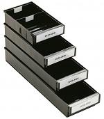 TRESTON - 3020-4ESD - ESD drawer, 186x300x82 mm, black, WL36964
