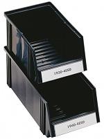 TRESTON - 1930-4ESD - ESD visual storage box, 186x300x156 mm, black, WL36987