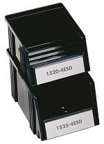TRESTON - 1520-4ESD - ESD visual storage box, 149x192x105 mm, black, WL36985