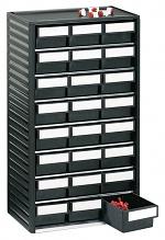 TRESTON - 554-4ESD - ESD-Kleinteilemagazin, 24 Schubladen, 310x180x550 mm, WL36938