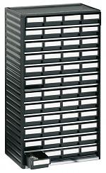 TRESTON - 551-4ESD - ESD-Kleinteilemagazin, 48 Schubladen, 310x180x550 mm, WL36937