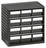 TRESTON - 294-4ESD - ESD-Kleinteilemagazin, 12 Schubladen, 310x180x290 mm, WL36936
