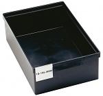TRESTON - 10-18L-4ESD - ESD visual storage box, 332 x 535 x 150 mm, black, WL36811