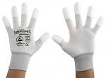 SAFEGUARD - SG-white-JNW-202-XXL - ESD Handschuh weiß/hellgrau, beschichtete Fingerkuppen, XXL, WL37432