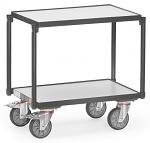 FETRA - 93540 - ESD Euro box roller, 2 shelves, 250 kg, 605 x 405 mm, WL43486
