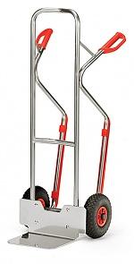 FETRA - A1330L - Aluminium trolley, 200 kg, shovel 250 x 320 mm, WL39863