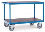 FETRA - 12402 - Table trolley, 2 shelves, 1200 kg, 1000 x 700 mm, WL39842