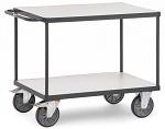 FETRA - 9400 - ESD table trolley, 2 shelves, 500 kg, 850 x 500 mm, WL34046