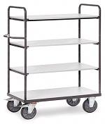 FETRA - 9200 - ESD shelf trolley, 4 shelves, 500 kg, 850 x 500 mm, WL34226