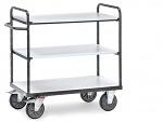 FETRA - 9100 - ESD shelf trolley, 3 shelves, 500 kg, 850 x 500 mm, WL34224
