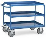 FETRA - 4830 - Table trolley, 3 tubs, 400 kg, 850 x 500 mm, WL39826