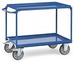 FETRA - 4820 - Table trolley, 2 tubs, 400 kg, 850 x 500 mm, WL39824
