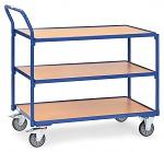 FETRA - 2750 - Table trolley light, 3 shelves, 300 kg, 850 x 500 mm, WL39822
