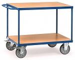 FETRA - 2400 - Table trolley heavy, 2 shelves, 500 kg, 850 x 500 mm, WL39816