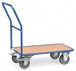 FETRA - 2100 - Magazine trolley, 1 wooden shelf, 400 kg, 850 x 500 mm, WL39804