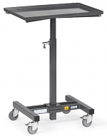 FETRA - 1890 - ESD material stand, height adjustable, 150 kg, 605 x 405 mm, WL34212