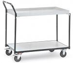 FETRA - 1860 - ESD table trolley, 1 shelf/1 box, 300 kg, 850 x 500 mm, WL34218