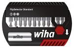 WIHA - 39029 - Bit Set FlipSelector Standard 25 mm, 7947-005 FlipSelector Z, Schlitz / PH / PZ, WL34397