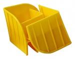 WEZ - 9980.023 - safety corner yellow, 100x100x85 mm, WL42278