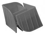 WEZ - 9980.023 - Safety corner grey, 100x100x85 mm, WL42279