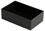 WEZ - 1711.055. - ESD insert container Variobox, for container 600x400 mm, pitch 1/10 with partition wall, WL35878