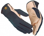 GUIDE - GUIDE-58-ESD-5 - ESD gloves leather blue/grey, beige, 5, WL42947