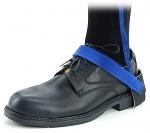 SAFEGUARD - SAFEGUARD ESD - ESD heel strap with velcro, blue/blue, WL43114