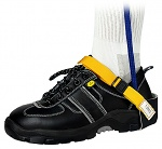 SAFEGUARD - SAFEGUARD ESD - ESD heel strap with clip closure, yellow/blue, WL24931