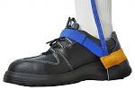 SAFEGUARD - SAFEGUARD ESD - ESD heel strap with velcro, blue/yellow, WL42060