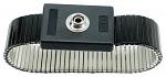 SAFEGUARD - SAFEGUARD ESD - ESD-Armband Metall, 7 mm Druckknopf, WL32797