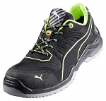 ISM - 644210-40 - ESD safety shoes for lacing, metal-free, men, black/green, size 40, WL41973