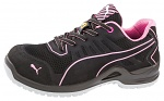 ISM - 644110-36 - ESD safety shoes for lacing, ladies, black/pink, size 36, WL41747