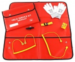 SAFEGUARD - SafeGuard Pro Plus - ESD Service Kit SWISS, red, antistatic, WL44376